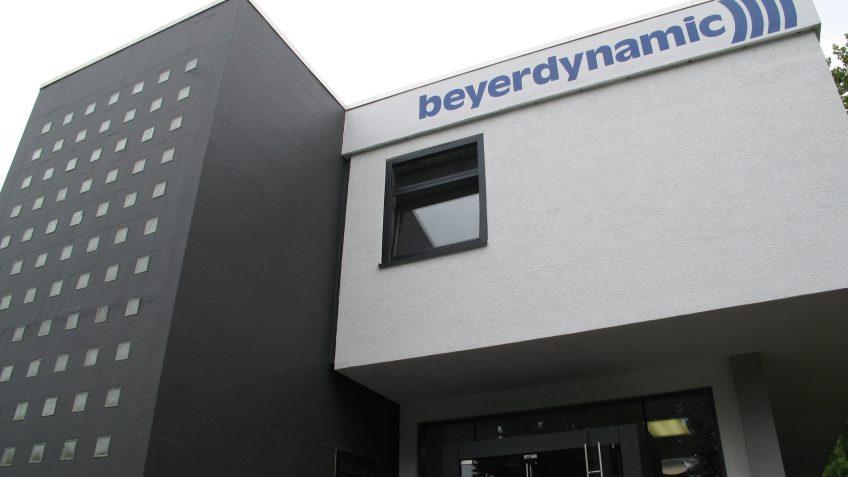 Firmengebäude beyerdynamic Heilbronn